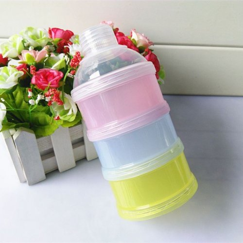 Layer Baby Food Travel Storage Box