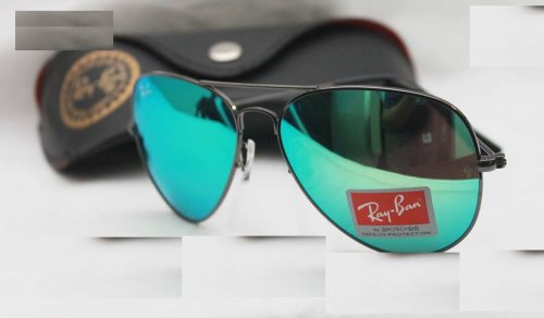 Ray Ban Gents Mercury Black Sunglass Replica SW4040