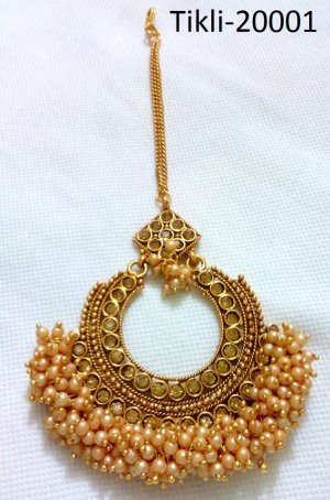 Gold Plated jewelry ornaments Tikli Tikli-20001