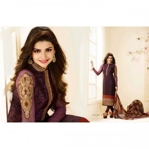 Prachi Cotton with embroidery 2851 Replica