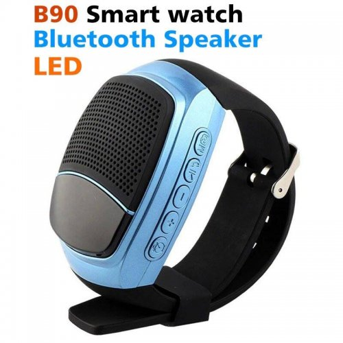 """ B90 Wireless Bluetooth Speaker Wristband - Seamless Smart Watch"""