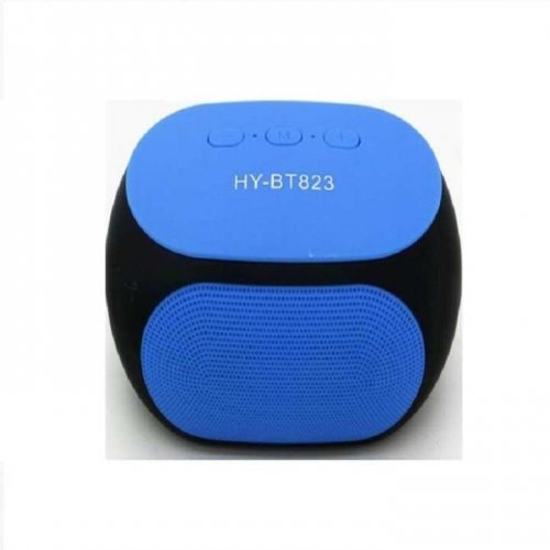 """Mini Bluetooth speaker HY-BT823 speakers with FM radio function ( Blue ) """