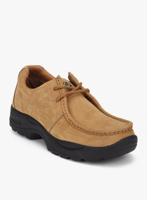 Woodland Casual Shoes CAMEL 2
