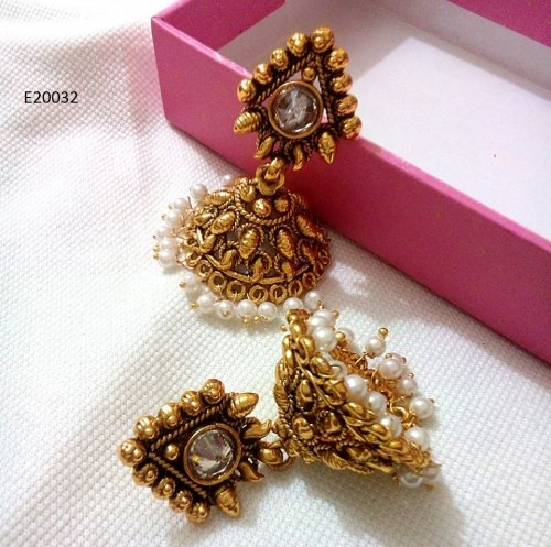 Gold Plated jewelry ornaments Earrings E-20032