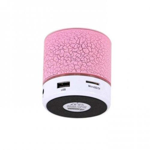 A9 Mini Portable Wireless Bluetooth Speaker – Pink