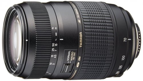 Tamron Auto Focus 70-300mm f/4.0-5.6 Di LD Macro Zoom Lens with Built In Motor