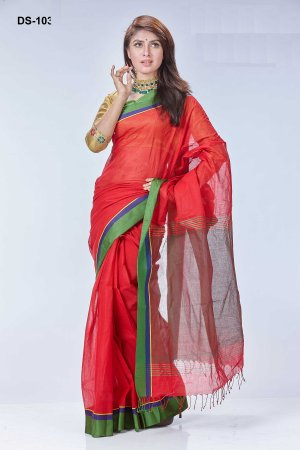 Boishakhi tat cotton Saree Bois-103
