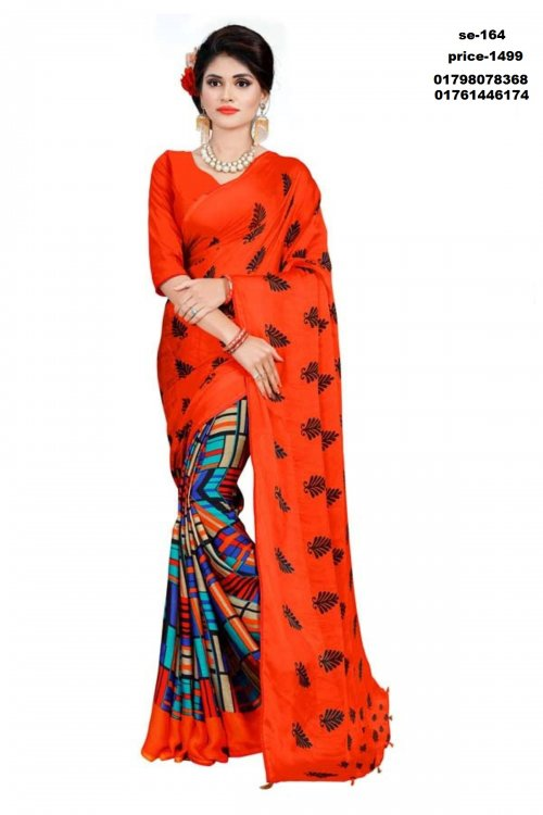 Indian silk saree se-164