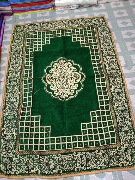 Indian velbet cotton Floor mat - Click Image to Close