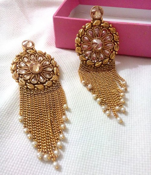 Gold Plated jewelry ornaments Earrings E-20031