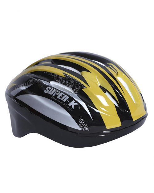 Super K Cycle Helmet - Yellow