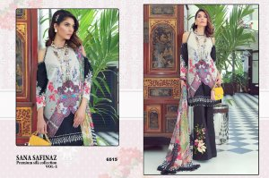 Sana Safinaz Premium Silk Collection Vol 2 By Shree Fabs Suits- 6515