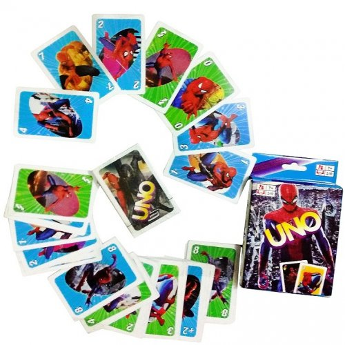 Uno card Spiderman