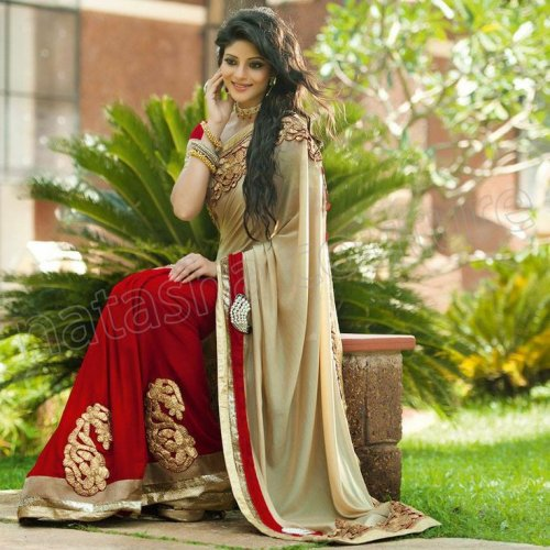 Weight Less Georgette saree SS-92