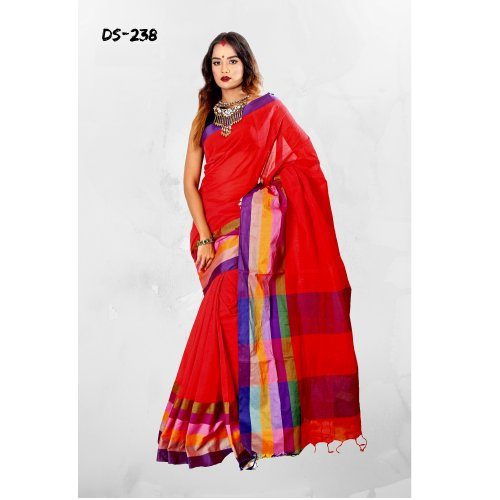 Cotton Tat saree bois-238