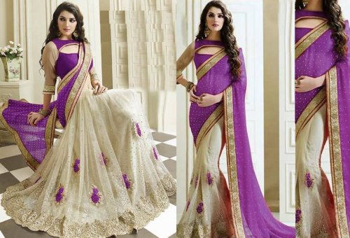 Weight Less Georgette saree SS-573