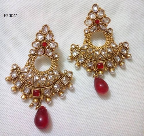 Gold Plated jewelry ornaments Earrings E-20041