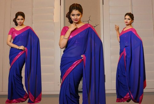 Weight Less Georgette saree SS-227