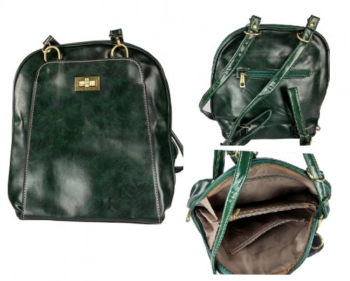 Ladies hand bag backpack 4