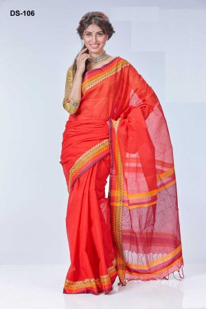 Boishakhi tat cotton Saree Bois-106