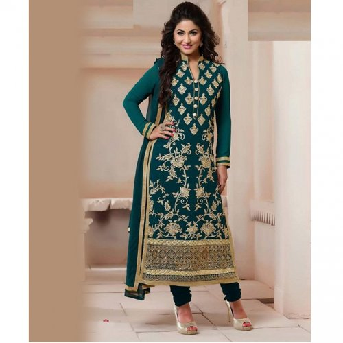 Unstitched Cotton Block Printed Salowar Kameez seblock-330