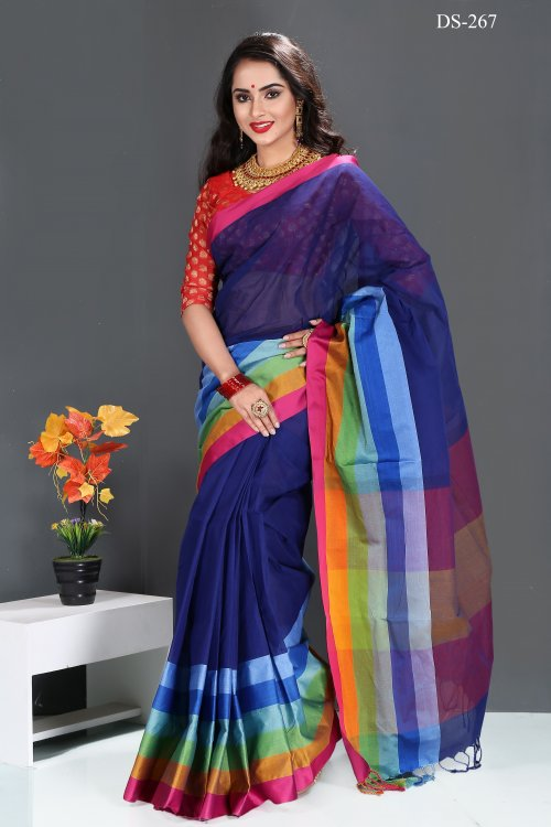 cotton saree for woman bois-267