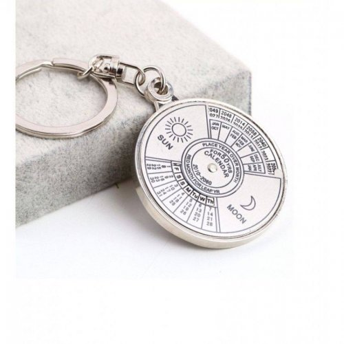 50 Years Perpetual Calendar Key Ring