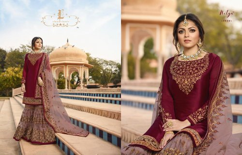 Georgette Designer Sharara Suit for woman