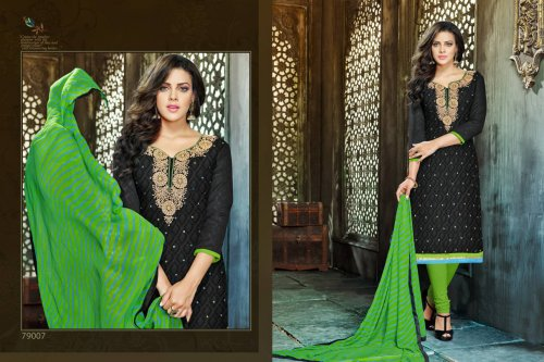 Embroidered salwar kameez S-382