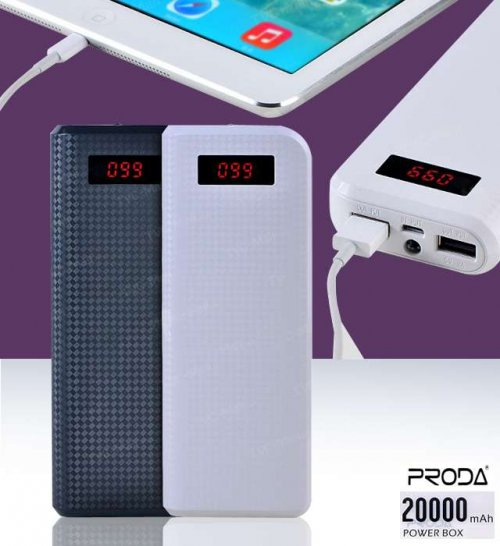 POWER BANK REMAX PRODA DUAL USB 20000MAH