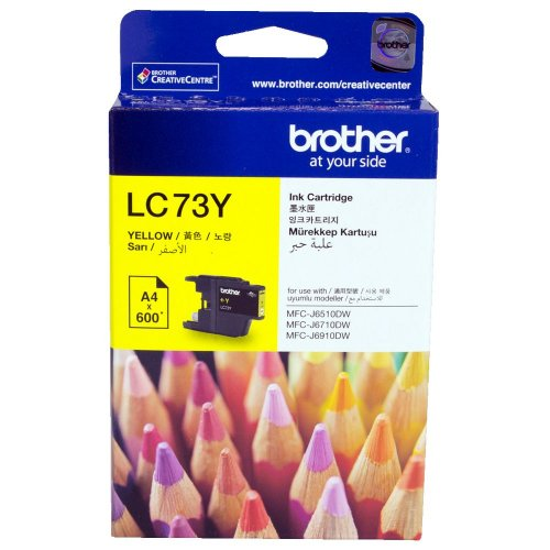 Brother LC73Y Yellow Cartridge