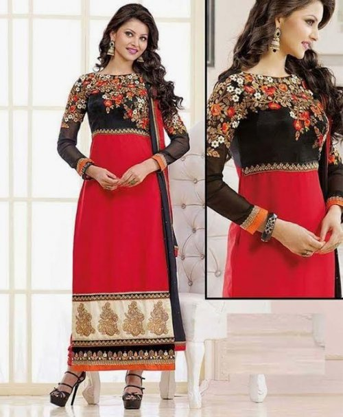 Unstitched Cotton Block Printed Salowar Kameez seblock-323