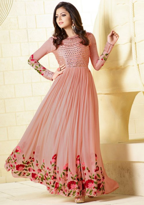 Drashti Dhami Anarkali Salwar Suit Gown LT NITYA SUITS 99002