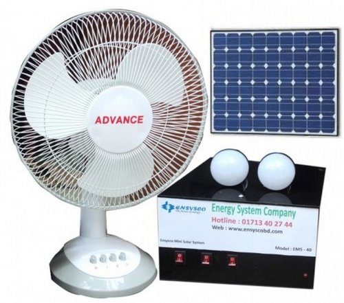 EMS-40 40-Watt Mini Solar Power Home System