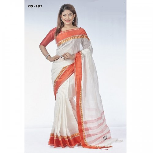 Cotton Tat saree DS-191
