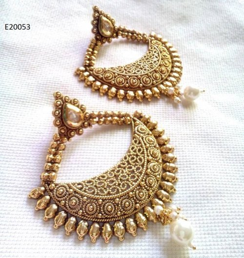 Gold Plated jewelry ornaments Earrings E-20053