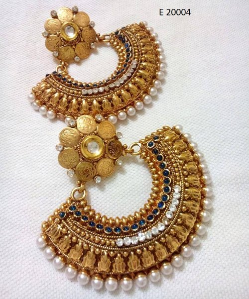 Gold Plated jewelry ornaments Earrings E-20004