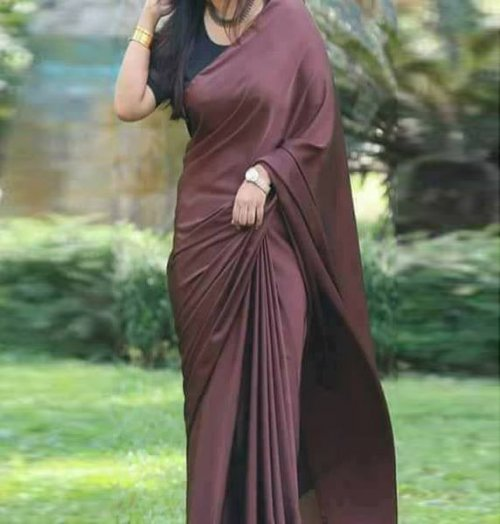 satin silk saree satin silk 15