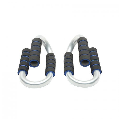 Push Up Bar Black and Blue