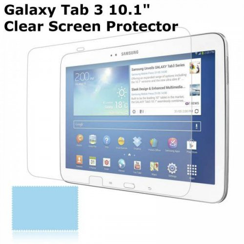 "Galaxy Tab 3 10.1"" Ultra Clear LCD Screen Protector"