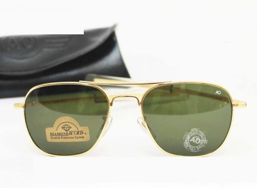 American Optical Diamond Golden Sunglass SW4006