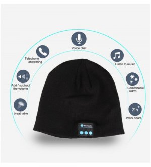 Winter Wireless Warm Smart Bluetooth Music Hat
