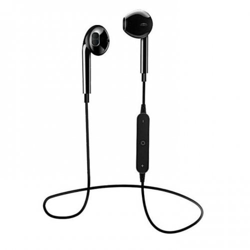S6 Wireless Sports Stereo Headset - Black