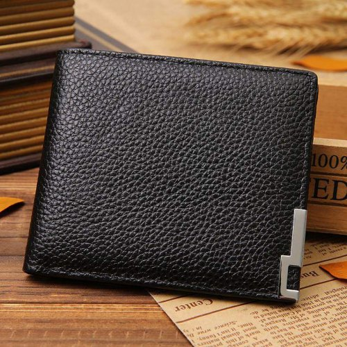 New Arrival Casual Cowhide Men's Wallet 13