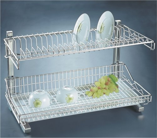 WellMax 222B Double Rack - Silver