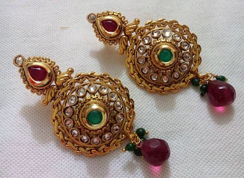Gold Plated jewelry ornaments Earrings E-20005
