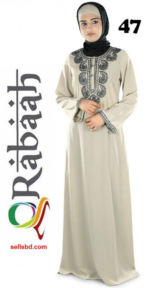 Fashionable muslim dress islamic clothing Rabaah Abaya Burka borka 47