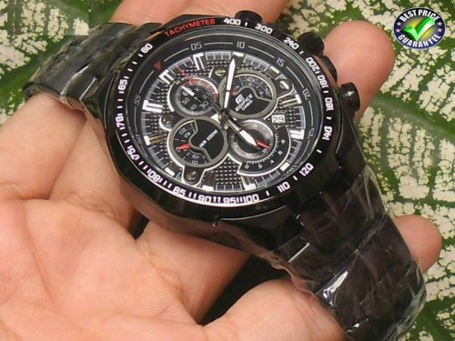 CASIO EDIFICE EF554 FULL BLACK