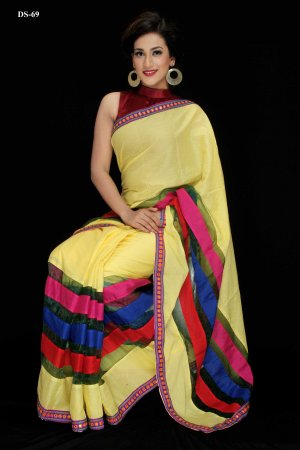 Boishakhi Cotton silk mixed Saree Bois-69
