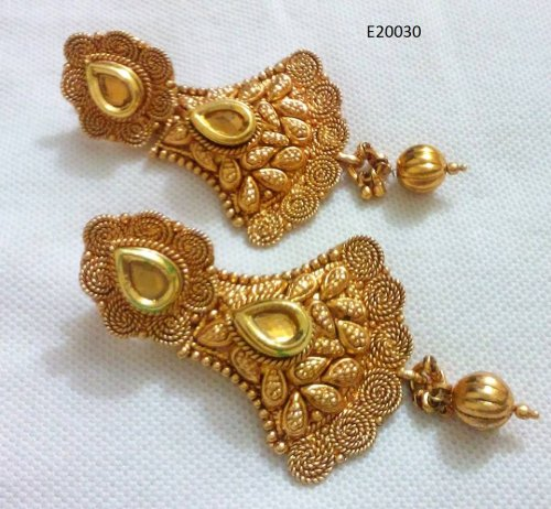 Gold Plated jewelry ornaments Earrings E-20030
